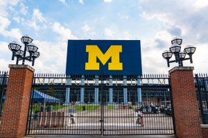 Gate at University of Michigan Stadium